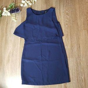 H&M size 4 navy dress, fits like a size 0
